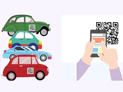 汽车行业二维码